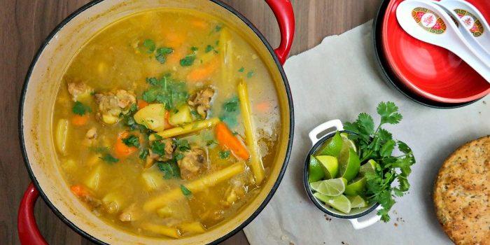 Vietnamese chicken curry Cà Ri Gà