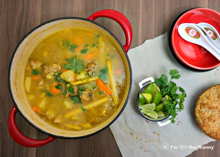 Vietnamese chicken curry (Cà Ri Gà) is light and creamy thanks to coconut milk