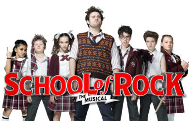 School of Rock Musical at The National Theatre
