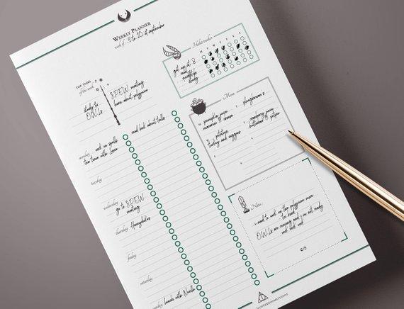Brilliant Best Minimalist Planner Printables For Discbound Ring Home Remodeling Inspirations Gresiscottssportslandcom