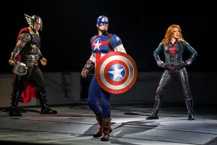 Marvel Universe Live Captain America