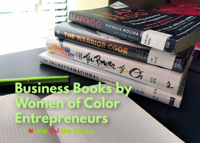 Business Books by Women of Color Entrepreneurs