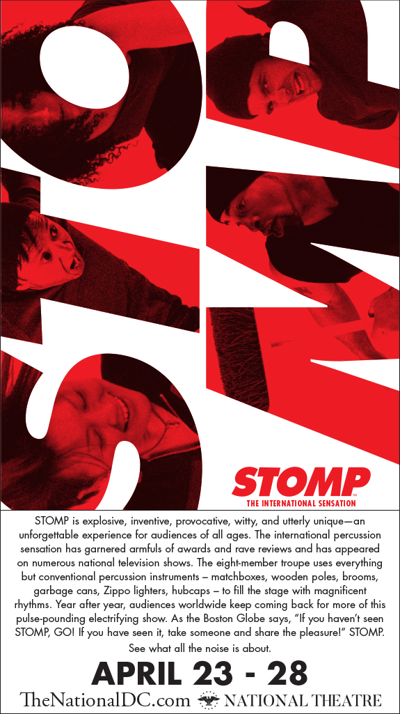 Stomp at National Theatre DC