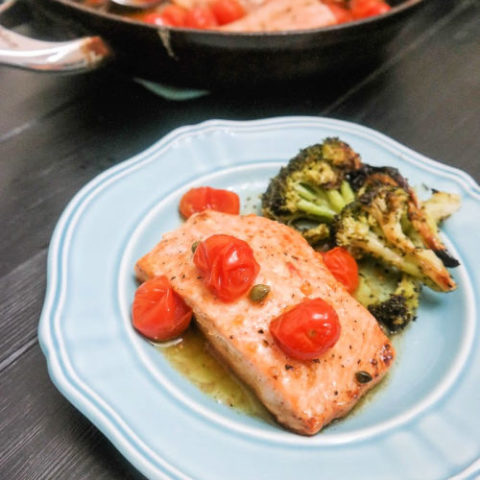 Easy Brown Butter Salmon