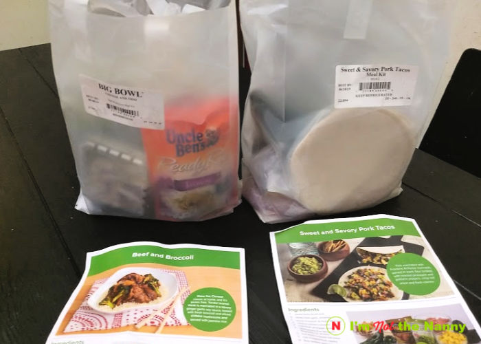 Peapod Meals Kits