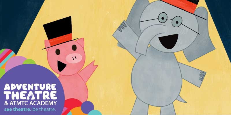 "Elephant & Piggie's ""We Are In A Play!"" at Adventure Theatre"