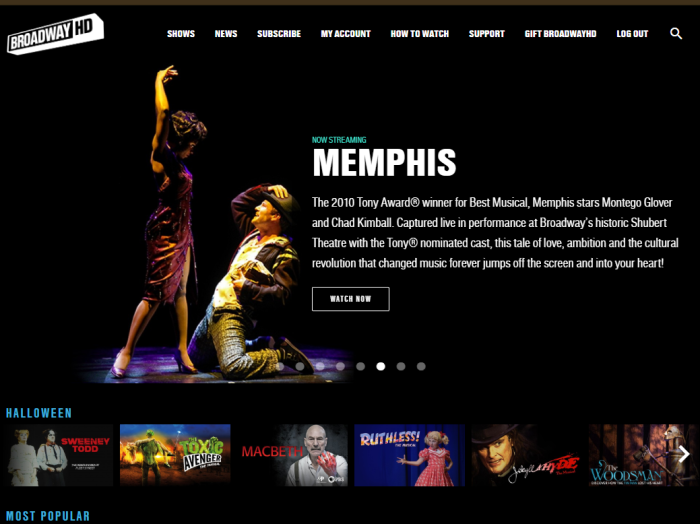 Memphis on BroadwayHD