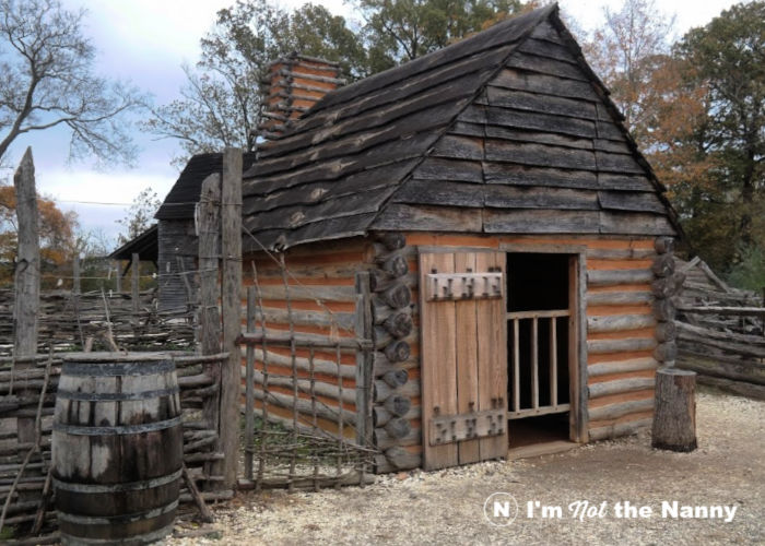 18th century colonial slave quarters