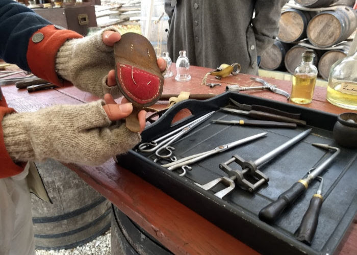 18th century surgery tools